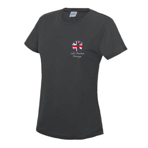 Grey Sofie Butchart Dressage T-Shirt